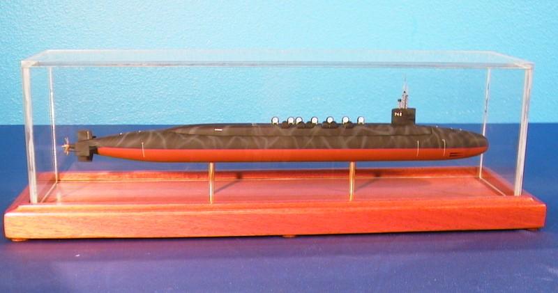 Uss wyoming ssbn 742 model submarine